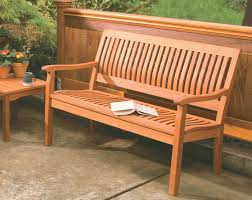 Garden Bench Hardwood 4ft Garden Bench Outdoorlivingdecor