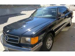 mercedes 500 for sale mercedes 500sec for sale on classiccars com 5 available