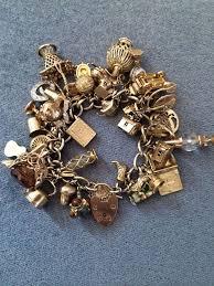 charm bracelet gold vintage images Gold charm bracelets uk 574 best gold charms bracelets vintage jpg