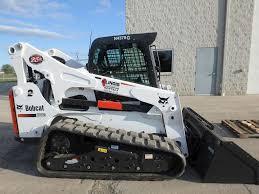 2016 bobcat t870 skid steer track loader for sale 748 hours