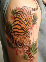 collection of 25 tiger design for biceps