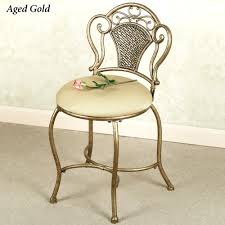 Bathroom Chairs Vanity Chair Flare Back Powder Finish Vanity Chair Click To