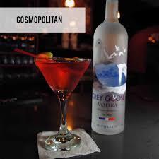 red martini bottle menu