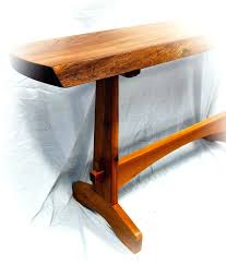 Skinny Foyer Table Mission Style Console Table U2013 Launchwith Me