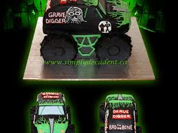 large grave digger monster truck toy 3d buttercream grave digger monster truck birthday cake all 100
