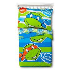 teenage mutant ninja turtles toddler bedding set target