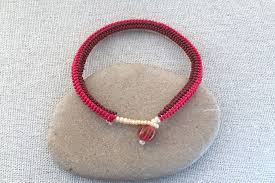 beading bracelet clasp images Beaded loop and button clasps jpg