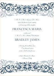 sle wedding programs outline 4 microsoft word wedding invitation templates outline templates
