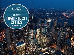 the most high tech cities in the us business insider