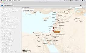 Biblical Maps Biblical Places On Logos 7 Logos Bible Software Forums