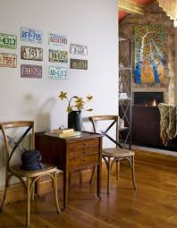 how to use license plates in home decor 15 unique decorating