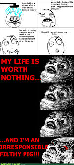 Raisin Face Meme - rage comics i should just drown myself in there memebase funny