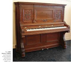 player piano roll cabinet upright cabinet styles in american piano manufacturing 1880 1930