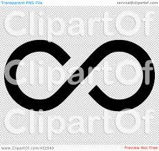 infinity sign royalty free rf clipart illustration of a black infinity symbol