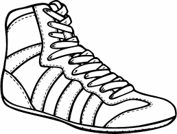 wrestling shoes clipart cliparting com