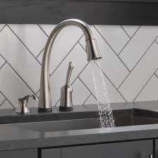 28 kitchen faucets touch technology 4380t dst delta pilar kitchen faucets touch technology delta pilar single handle standard kitchen faucet with