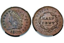 half cent liberty cap large head right facing 1794
