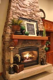 Ways To Decorate A Fireplace Mantel by Best 25 Stone Fireplace Decor Ideas On Pinterest Fire Place