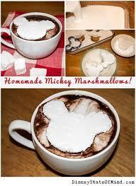 cuisine mickey marshmallows shaped like mickey mouse disney recipes