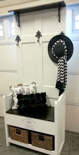 diy hall storage bench and coat rack
