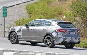 maserati bmw maserati levante gts spied testing alongside a bmw x5 m techmeme