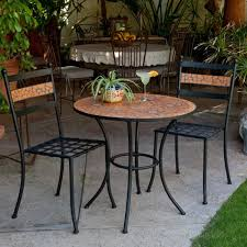 Durable Patio Furniture Complimenting Patio With Wrought Iron Patio Furniture