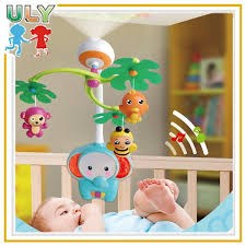 funning electric hanger musical plastic mobile baby toy view