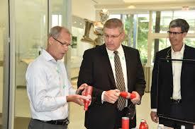 Phillip Gorrivan by Congressman Loudermilk Visits Novelis Tech Center