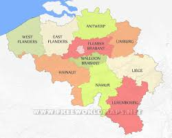 Europe Map Capitals by Map Of Belgium Kingdom Of Belgium Provinces And Capitals New Zone