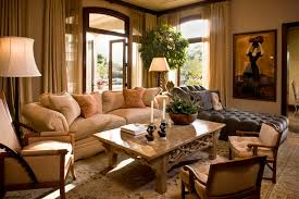 Classic Traditional Residence Traditional Family Room Orange - Interior design for family room