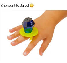He Went To Jared Meme - 25 best memes about she went to jared she went to jared memes