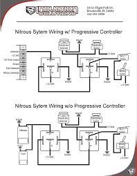 wiring with and without a progressive controller induction