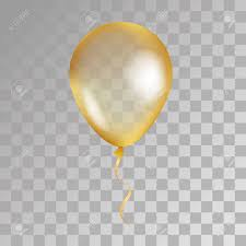 gold balloons gold transparent balloon on background frosted party balloons