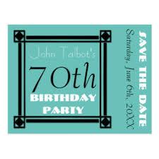 custom birthday save the date postcards zazzle co uk