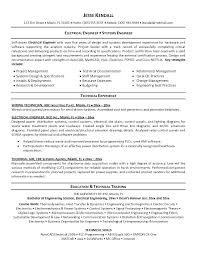 technical resume format engineering resume format pdf engineering resume format