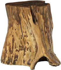 tree stump accent table hammary living room tree trunk accent table 090 773 flemington