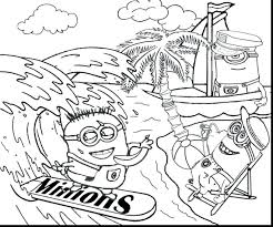 despicable coloring pages margo book pdf minion unicorn