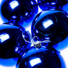 Navy Blue Christmas Decorations Uk by Shiny Navy Blue Shatterproof Baubles 6 X 80mm Party
