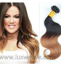 honey weave top quality 2pcs bundle ombre hair weave online