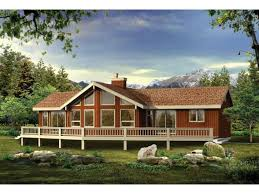 a frame house plans with garage eplans a frame house plan a grand vacation or retirement home