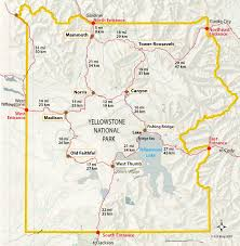 Yellowstone Map Usa by Yellowstone Park Entrances Yellowstone Insider