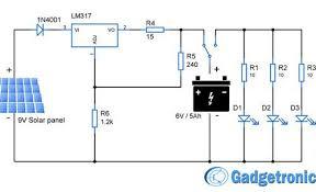 beautiful simplest automatic led solar light circuit u2013 solar