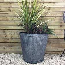 rustic garden planters shabby chic plant pots the farthing