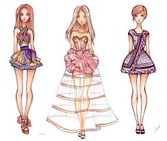 fashion sketch collection by nina d lux on deviantart