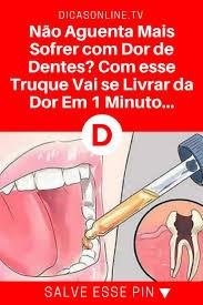 Basta Veja truques caseiros para se livrar da dor de dente já  #EP57