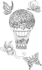 177 best coloring balloon umbrella images on pinterest