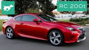 2016 lexus rc 200t coupe pricing 2016 lexus rc 200t review youtube