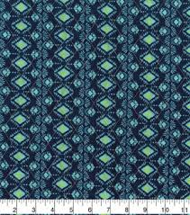faced pre quilted cotton fabric 42 teal paisley joann