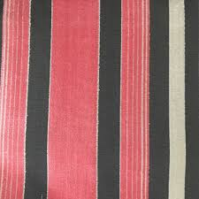 Pink Home Decor Fabric Richmond Striped Cut Velvet Upholstery Fabric By The Yard 12 Colors