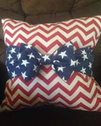 4th Of July Bow Throw Pillow Craft Ideas Pinterest Throw